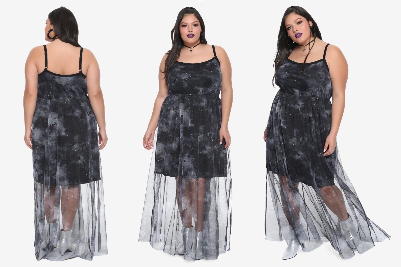 Plus Size Starfighter Maxi Dress at Hot Topic
