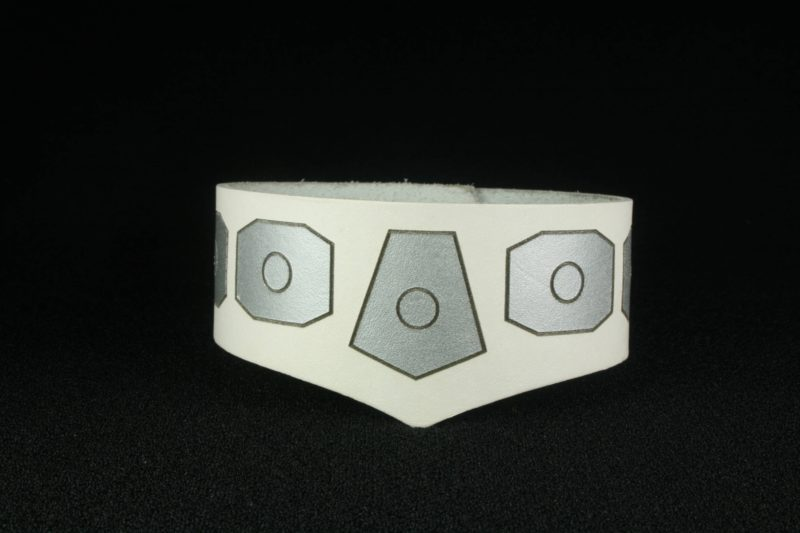 Star Wars Princess Leia inspired leather cuff bracelet by Legendary Costume Works