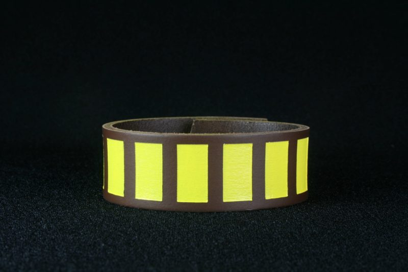Star Wars Han Solo inspired leather cuff bracelet by Legendary Costume Works