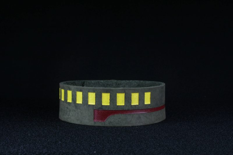 Star Wars Boba Fett inspired leather cuff bracelet by Legendary Costume Works