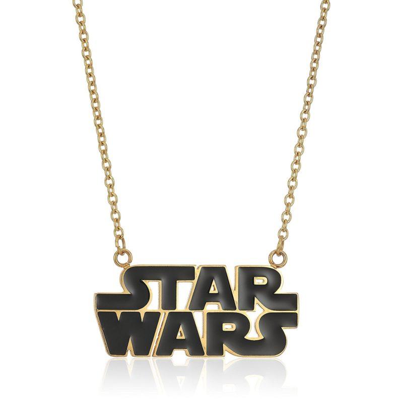 Leia's List - Star Wars enamel logo necklace at Amazon