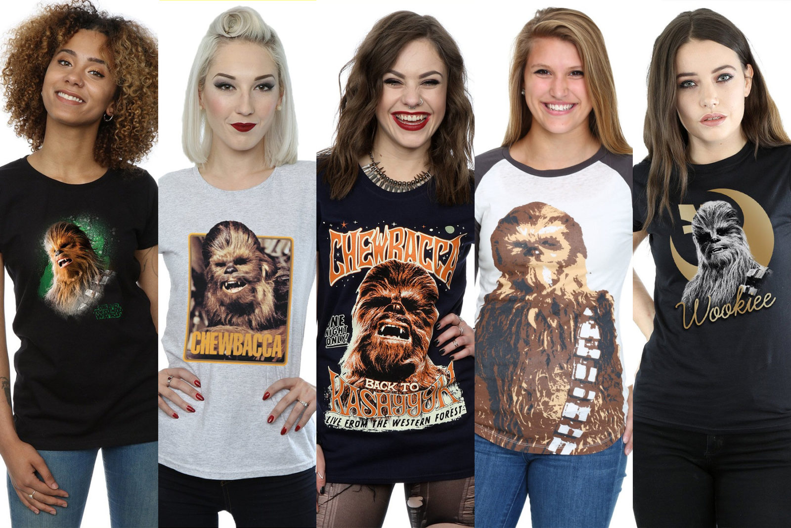 Leia's List – Women's Chewbacca Printed Tops