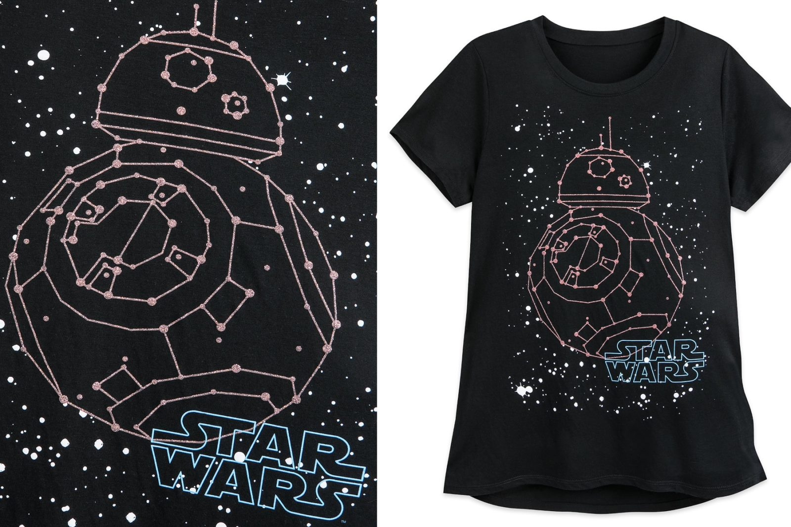 Women's Star Wars BB-8 Constellation T-Shirt