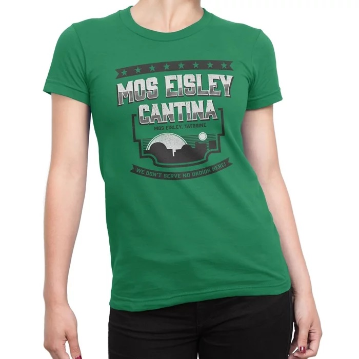 Women's Star Wars Mos Eisley Cantina t-shirt at SuperHeroStuff