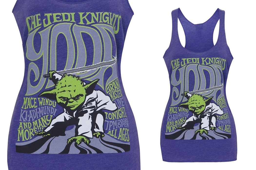 Women's Yoda Tank top at SuperHeroStuff