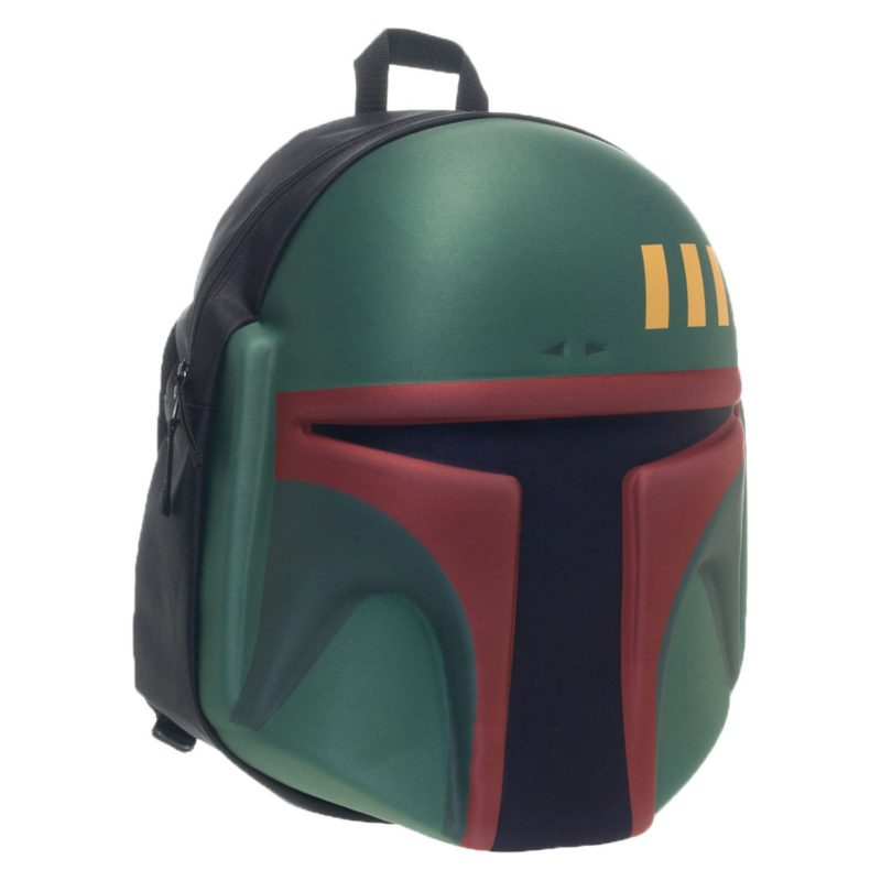 Star Wars Boba Fett Helmet Backpack at 80's Tees