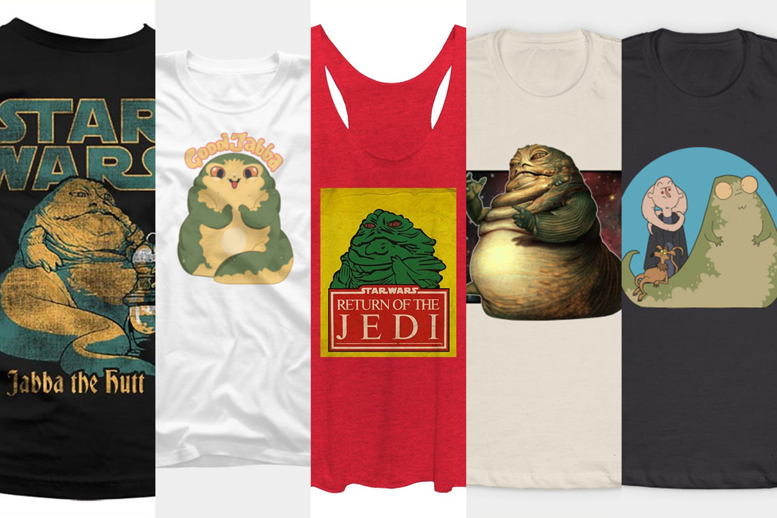 Leia's List – Women's Jabba the Hutt Tops