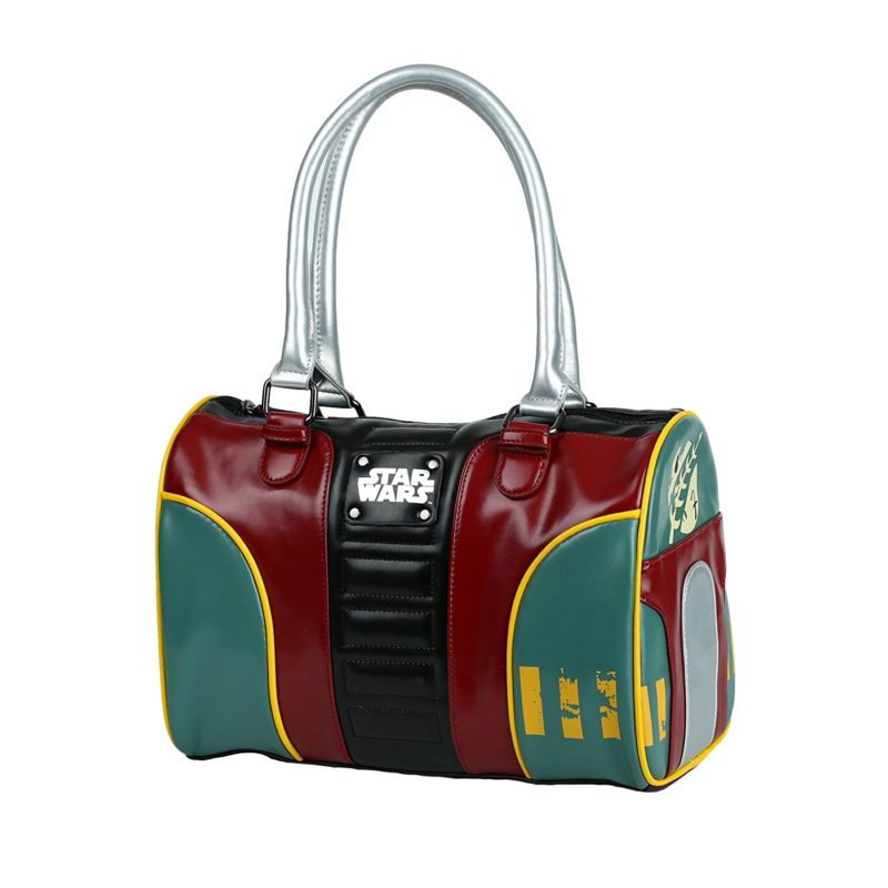 Bioworld x Star Wars Boba Fett Bowler Purse at Amazon