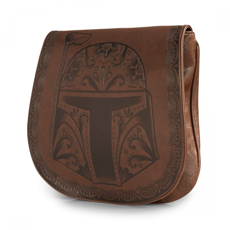 Loungefly x Star Wars Boba Fett Brown Crossbody Bag at Amazon