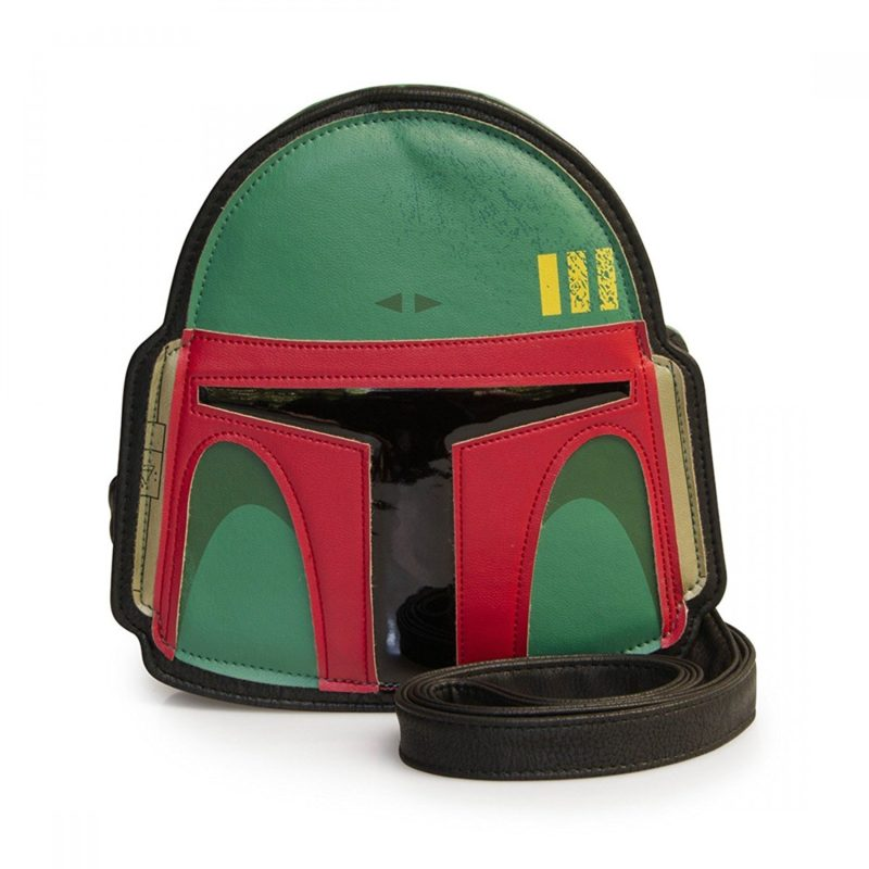Loungefly x Star Wars Boba Fett Helmet Crossbody Bag on Amazon