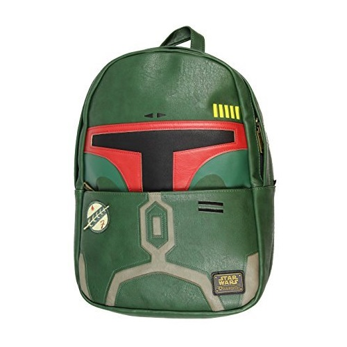 Loungefly x Star Wars Boba Fett Faux Leather Backpack on Amazon