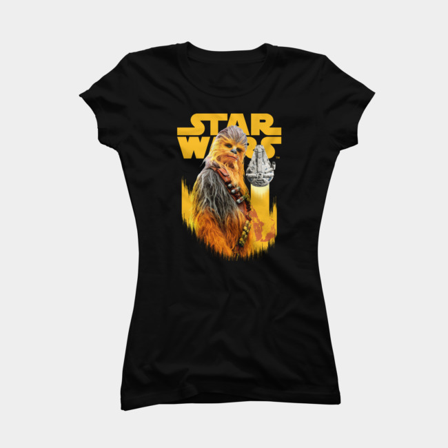 Women's Design By Humans x Star Wars Solo T-Shirts and Tank Tops