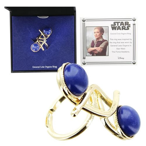 Body Vibe x Star Wars General Leia Organa replica ring at Entertainment Earth