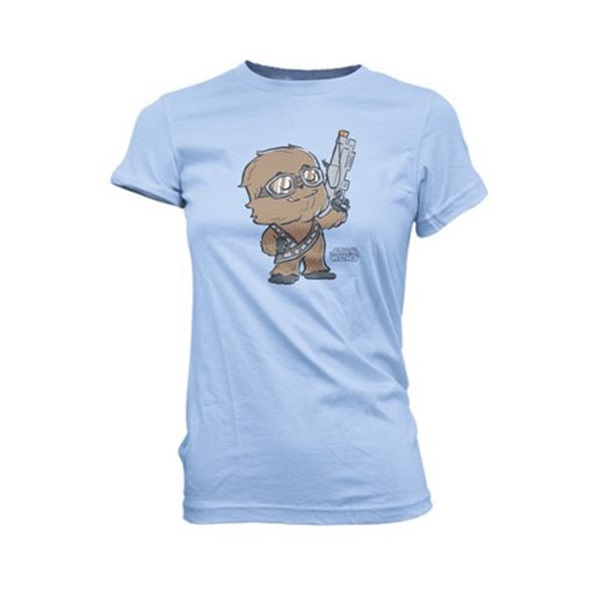 Women's Funko x Star Wars Solo Chewbacca t-shirt at Entertainment Earth