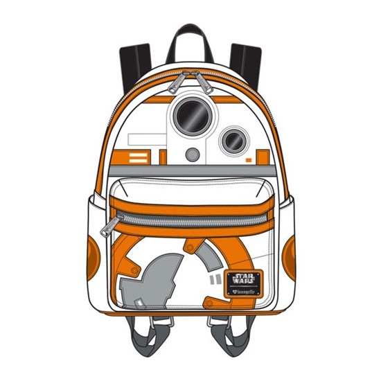 Loungefly x Star Wars BB-8 Applique Mini Backpack at Entertainment Earth