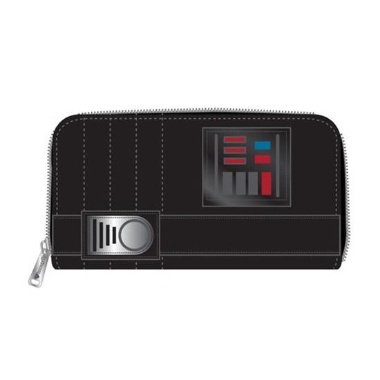Loungefly x Star Wars Darth Vader Zip Around Wallet at Entertainment Earth