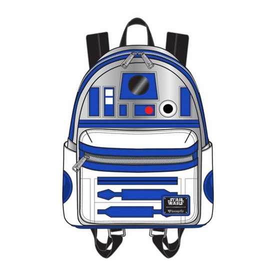 Loungefly x Star Wars R2-D2 Applique Mini Backpack at Entertainment Earth
