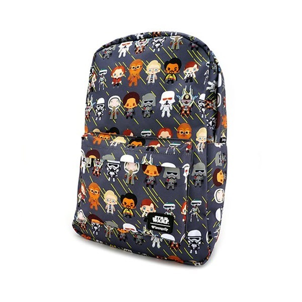 Loungefly x Star Wars Solo Chibi Character Print Backpack at Entertainment Earth