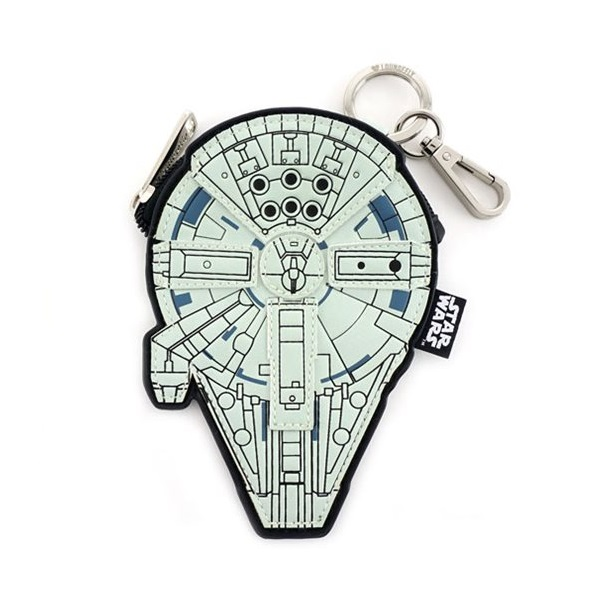 Loungefly x Star Wars Solo Millennium Falcon Coin Bag at Entertainment Earth