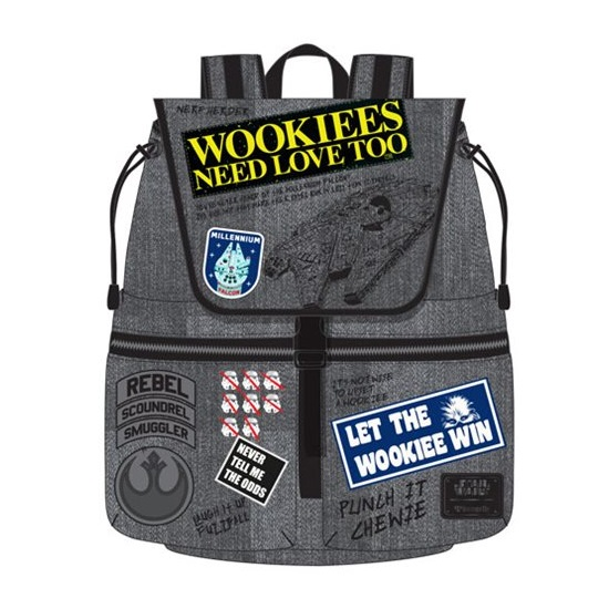 Loungefly x Star Wars Rebel Wookiee Patch Backpack at Entertainment Earth