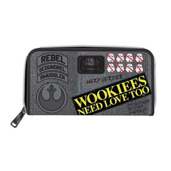 Loungefly x Star Wars Rebel Wookiee Patch Wallet at Entertainment Earth