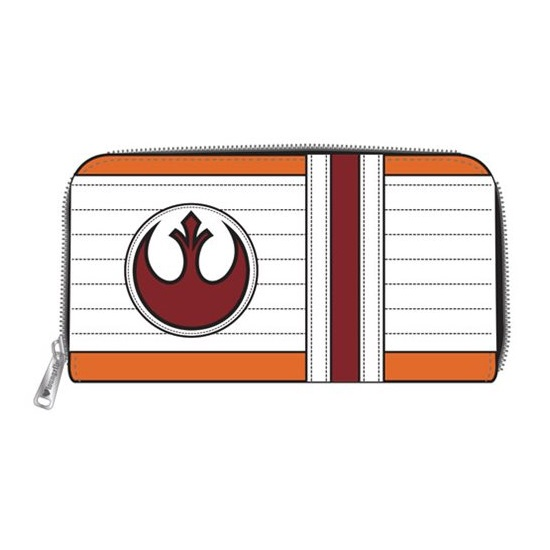 Loungefly x Star Wars X-Wing Zip Around Wallet at Entertainment Earth