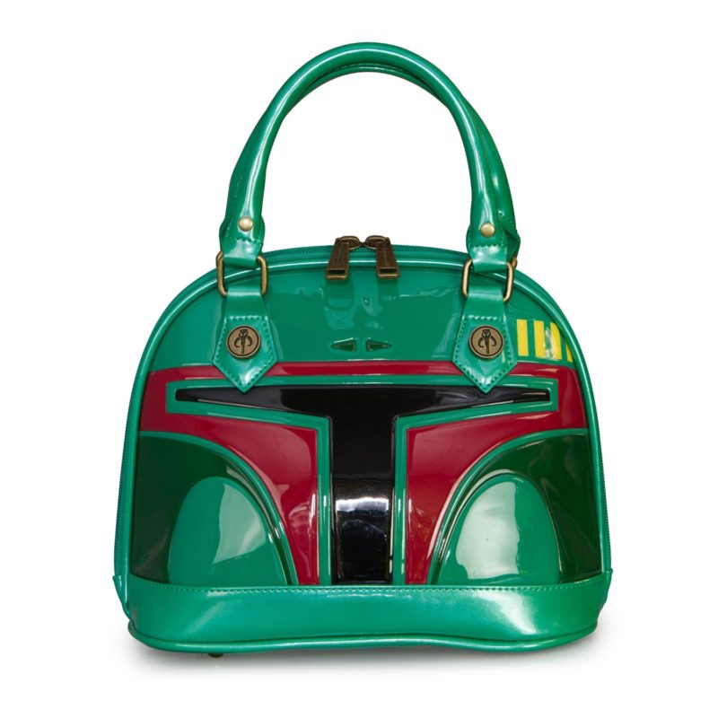 Loungefly x Star Wars Boba Fett Helmet Mini Dome Handbag at Fun
