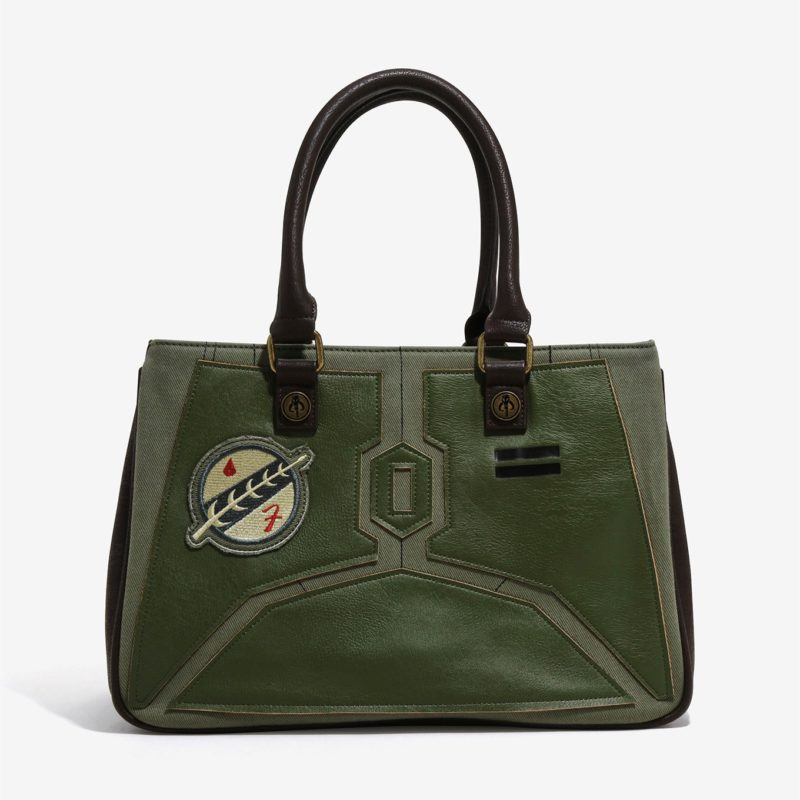Loungefly x Star Wars Boba Fett Applique Handbag at Her Universe