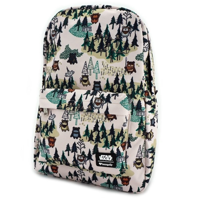 Loungefly x Star Wars Ewok forest printed backpack