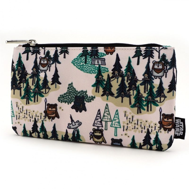 Loungefly x Star Wars Ewok forest printed coin purse/cosmetic bag