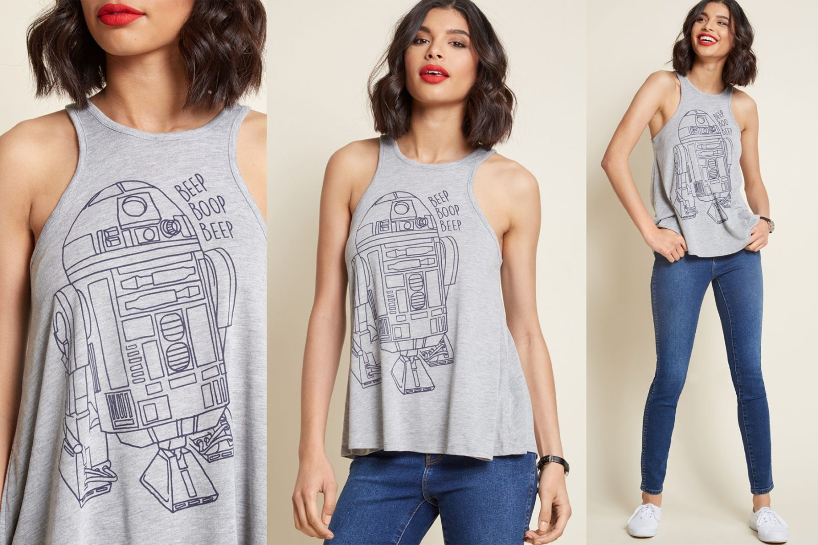 Women's R2-D2 Tank Top at ModCloth