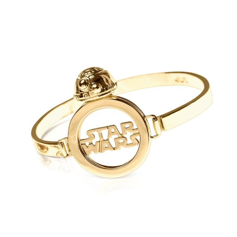 One Force Designs x Star Wars Galactic Changes BB-8 bracelet (gold plated)