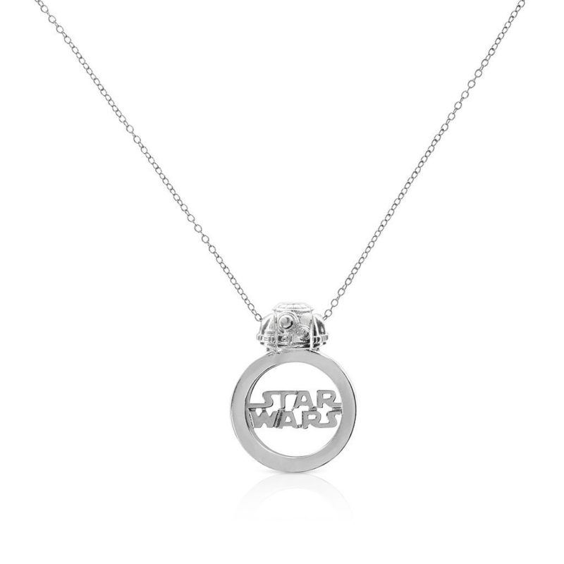 One Force Designs x Star Wars Galactic Changes BB-8 necklace (silver plated)