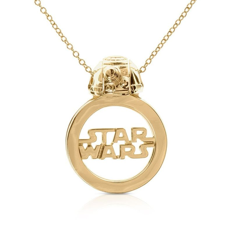 One Force Designs x Star Wars Galactic Changes BB-8 necklace (gold plated)