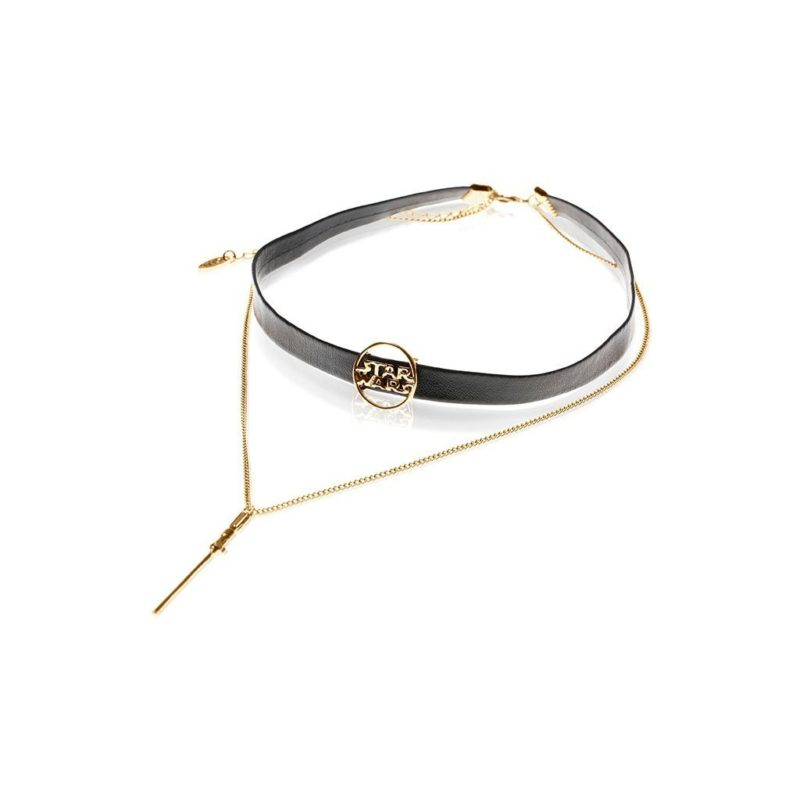 One Force Designs x Star Wars Lightsaber choker necklace (gold plated)