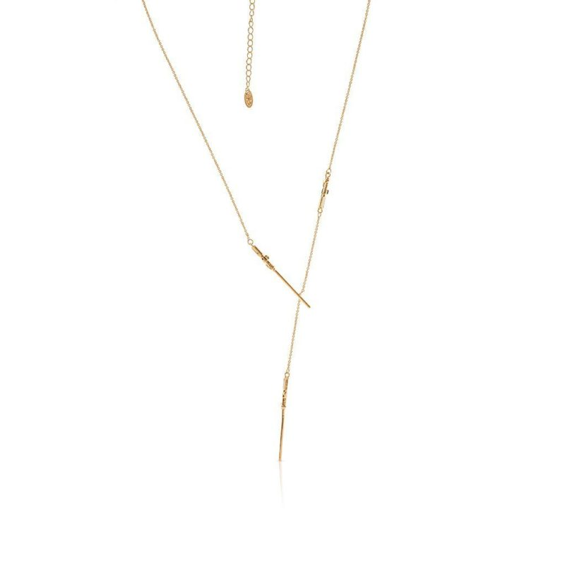 One Force Designs x Star Wars Lightsaber necklace (gold plated)