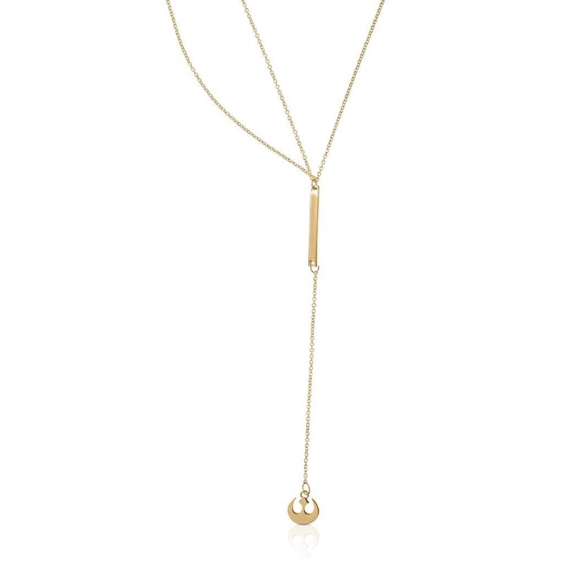One Force Designs x Star Wars Rebel Alliance double necklace (gold plated)