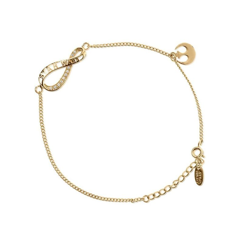 One Force Designs x Star Wars Infinity bracelet (gold plated)