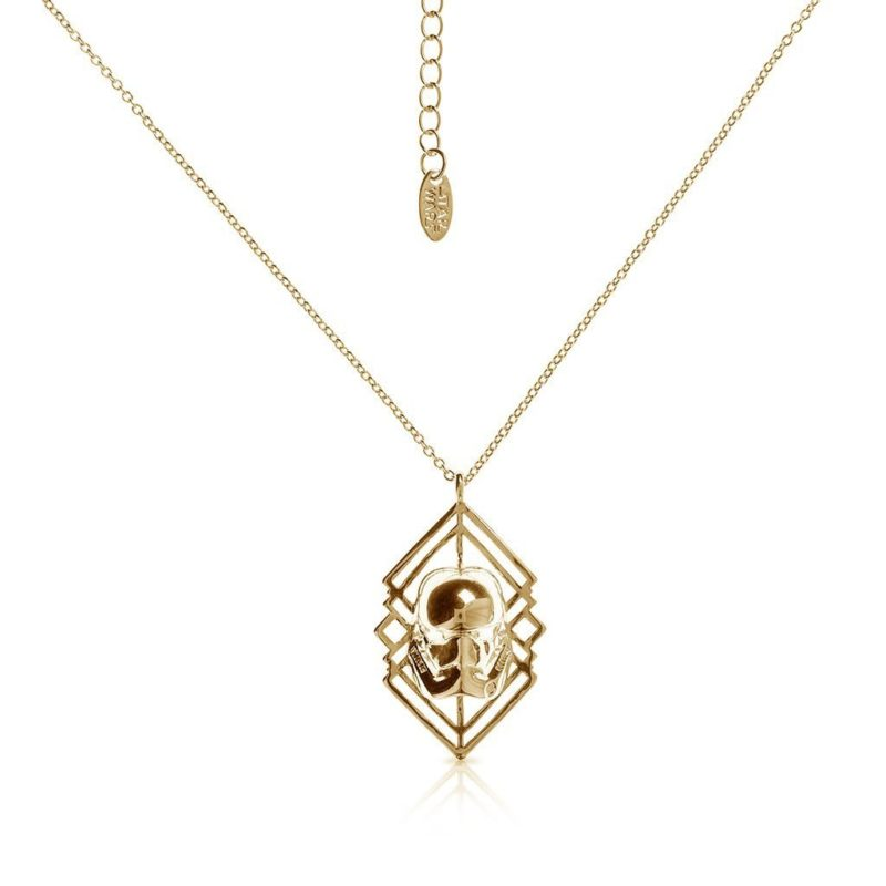 One Force Designs x Star Wars First Order Stormtrooper necklace (gold plated)