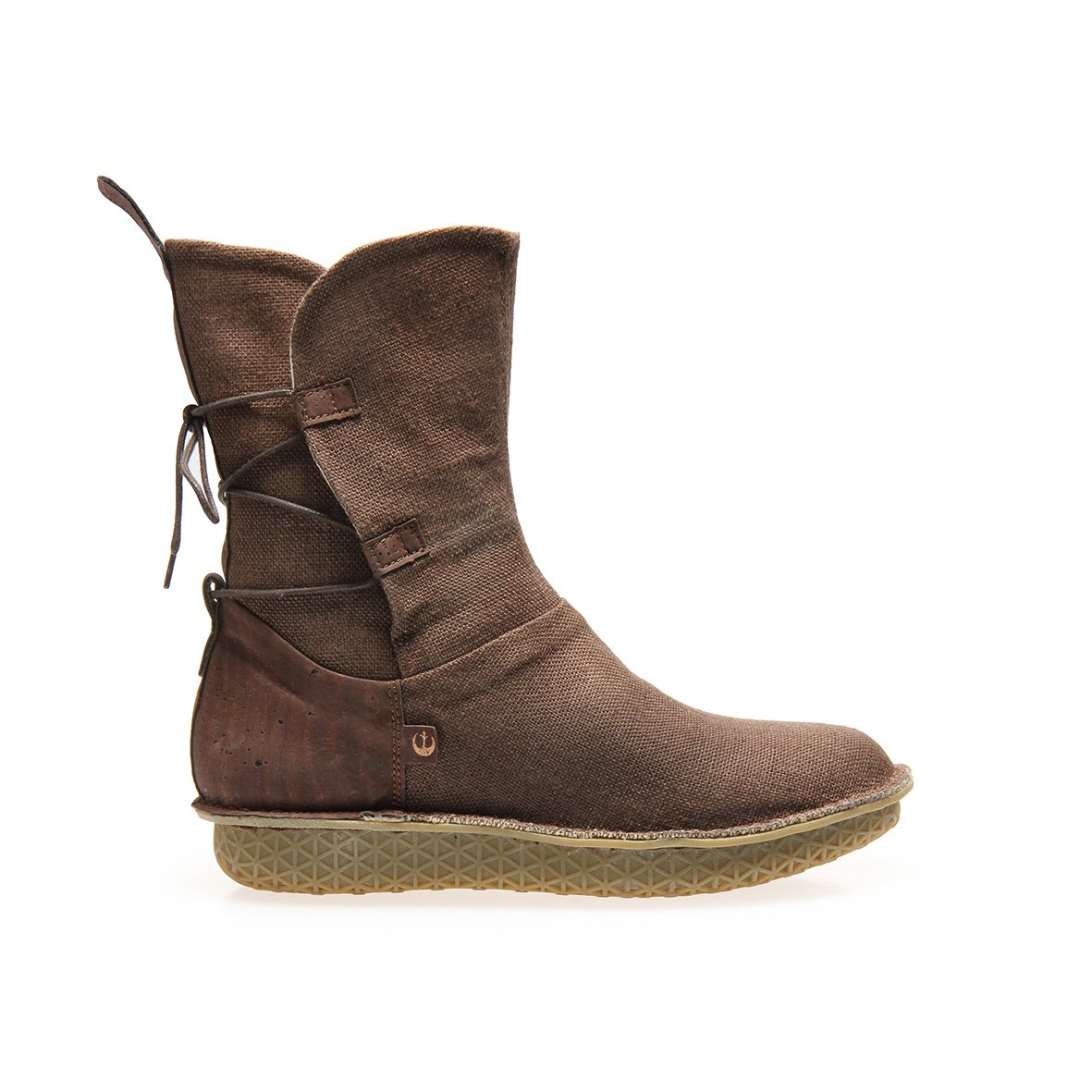 Women's Po-Zu x Star Wars Rey brown linen boots