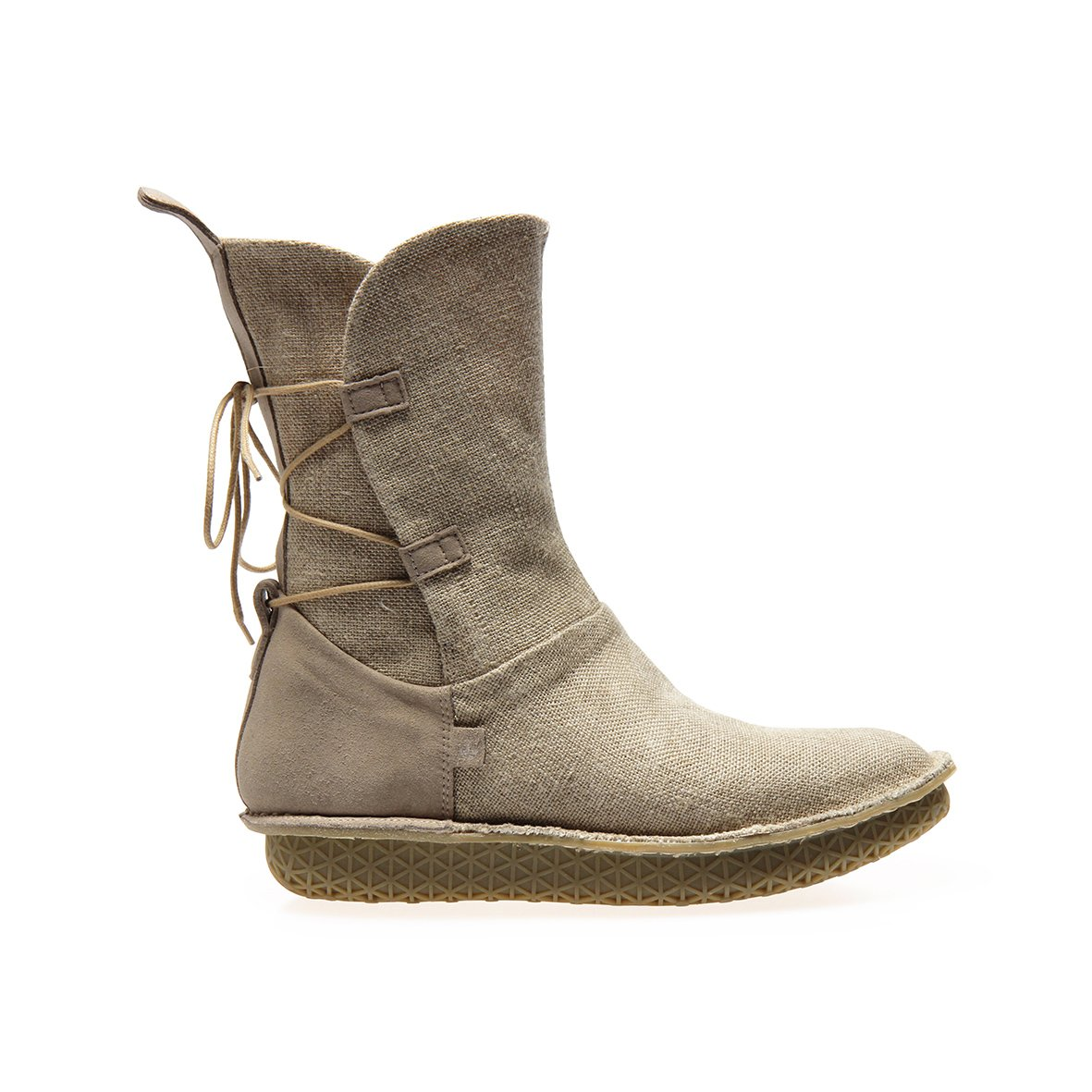 Women's Po-Zu x Star Wars Rey natural linen boots