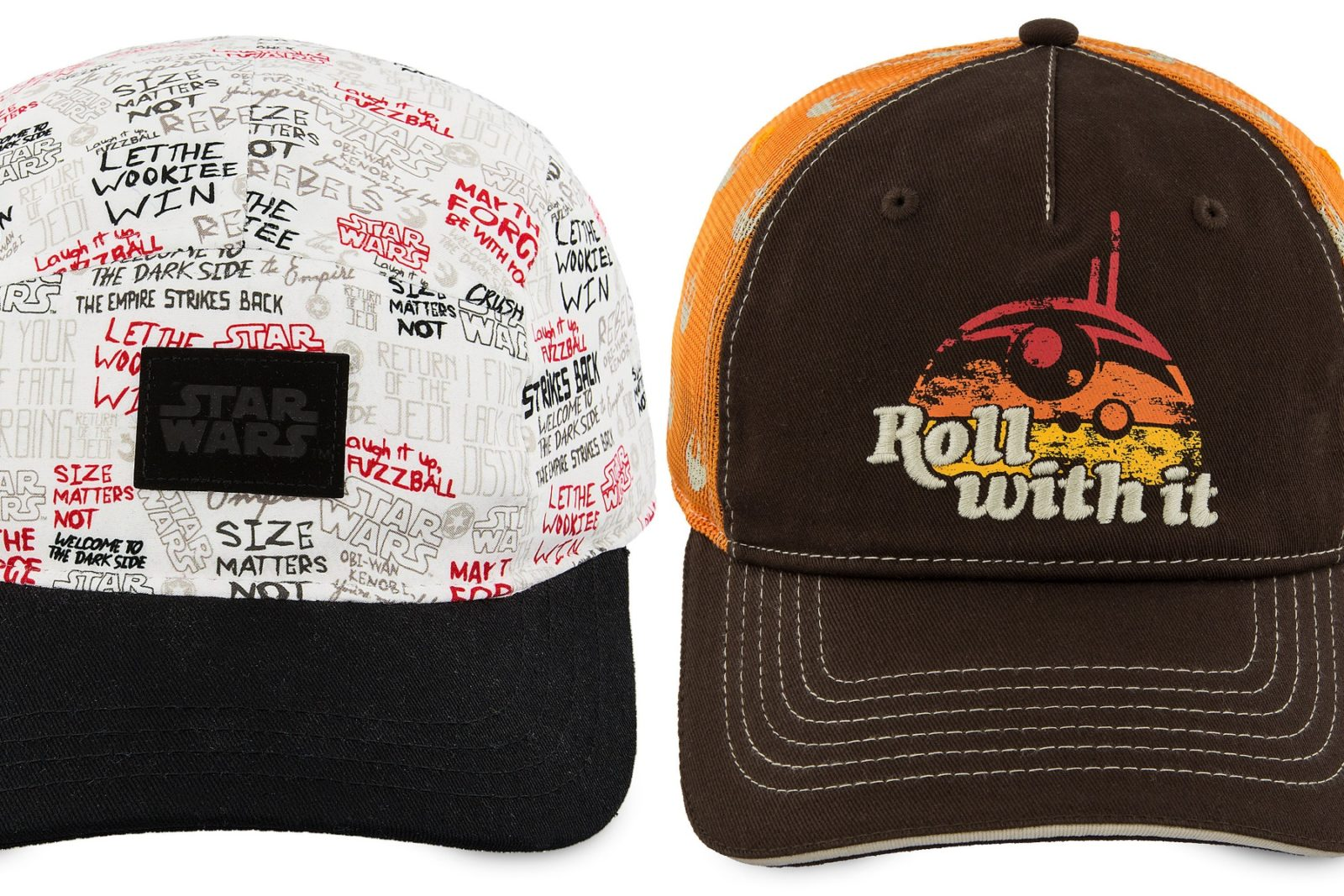 New Star Wars Caps at Shop Disney
