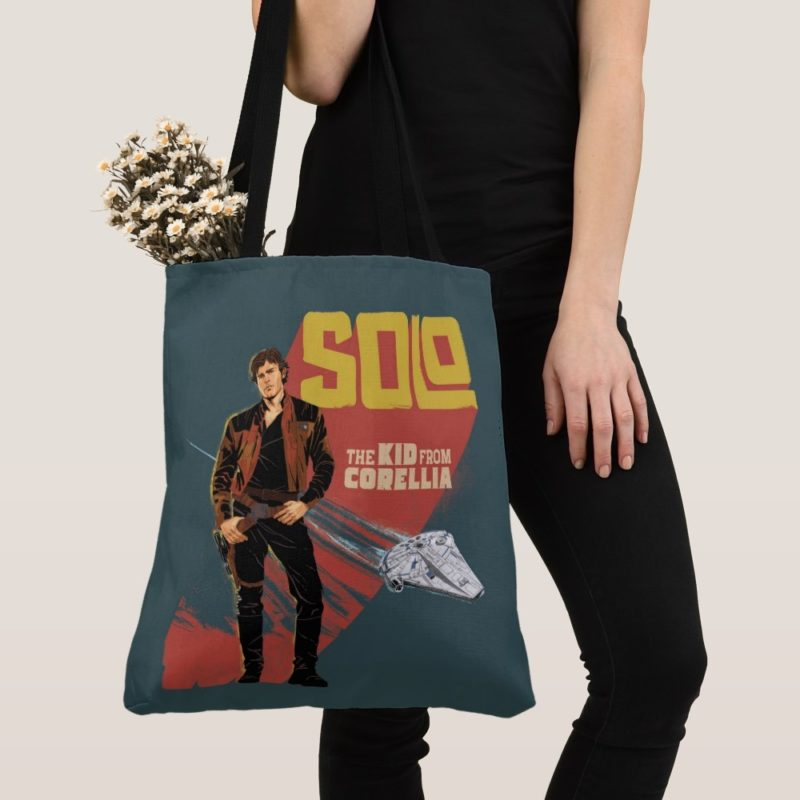 Women's Solo A Star Wars Story Han Solo The Kid From Corellia Tote Bag at Shop Disney