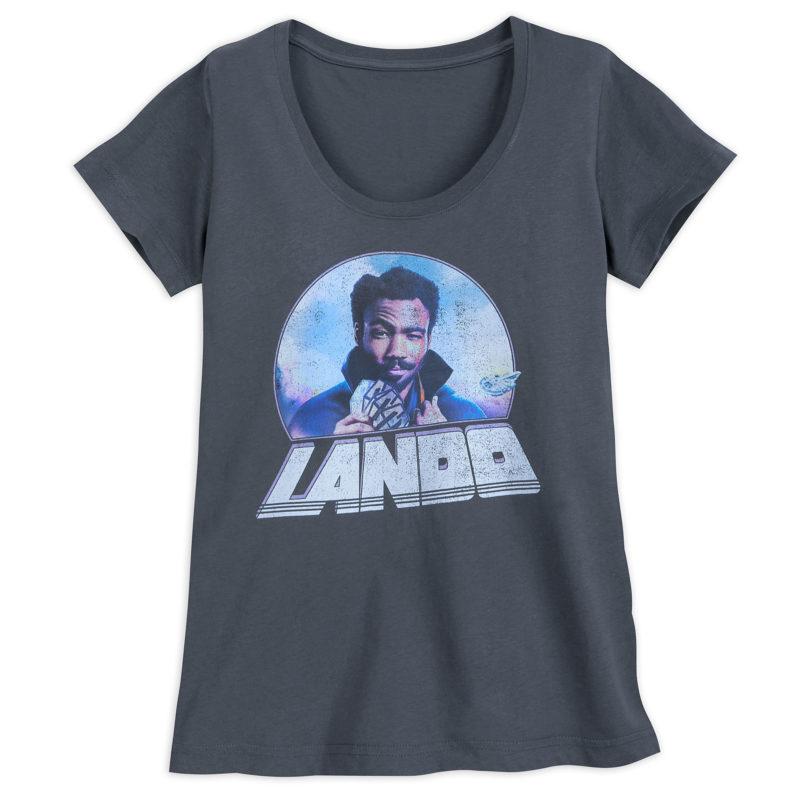Women's Solo A Star Wars Story Lando T-Shirt at Shop Disney