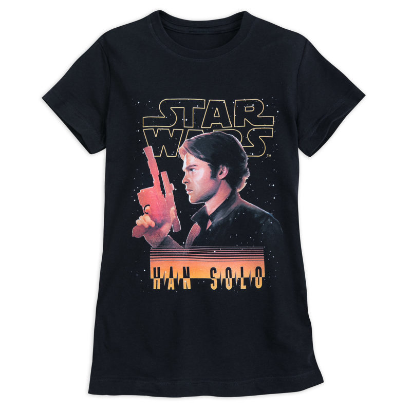 Women's Solo A Star Wars Story Han Solo T-Shirt at Shop Disney