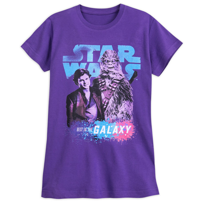 Women's Solo A Star Wars Story Han Solo and Chewbacca T-Shirt at Shop Disney