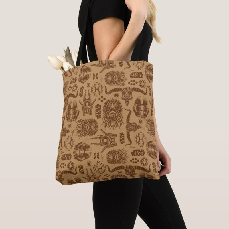 Women's Solo A Star Wars Story Brown Tribal Tote Bag at Shop Disney