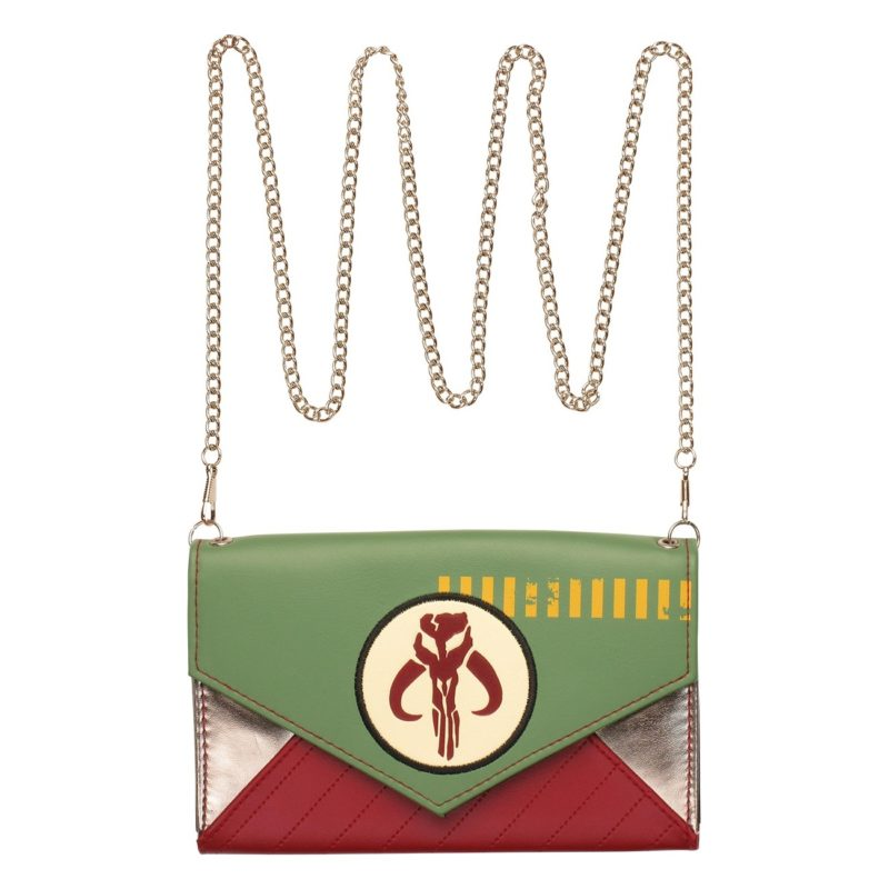 Bioworld x Star Wars Boba Fett Mandalorian Envelope Clutch at Stylin Online