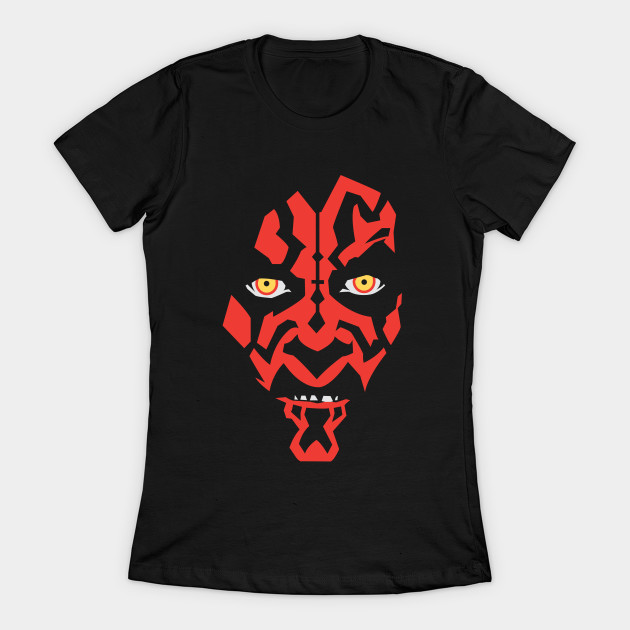 Women's Star Wars Darth Maul t-shirt at TeePublic