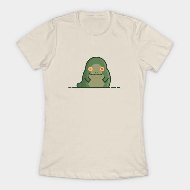 Women's Star Wars Jabba the Hutt t-shirt at TeePublic